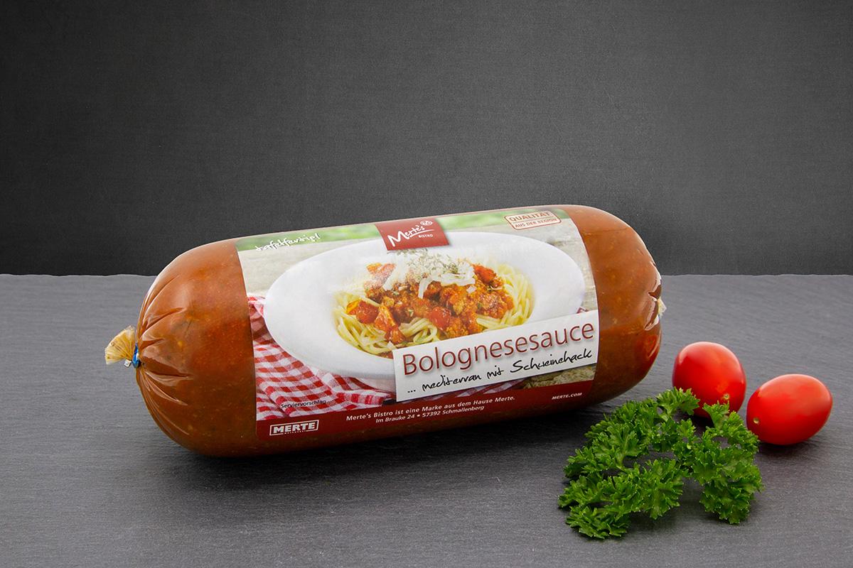Bolognesesauce mit Schweinfleisch
