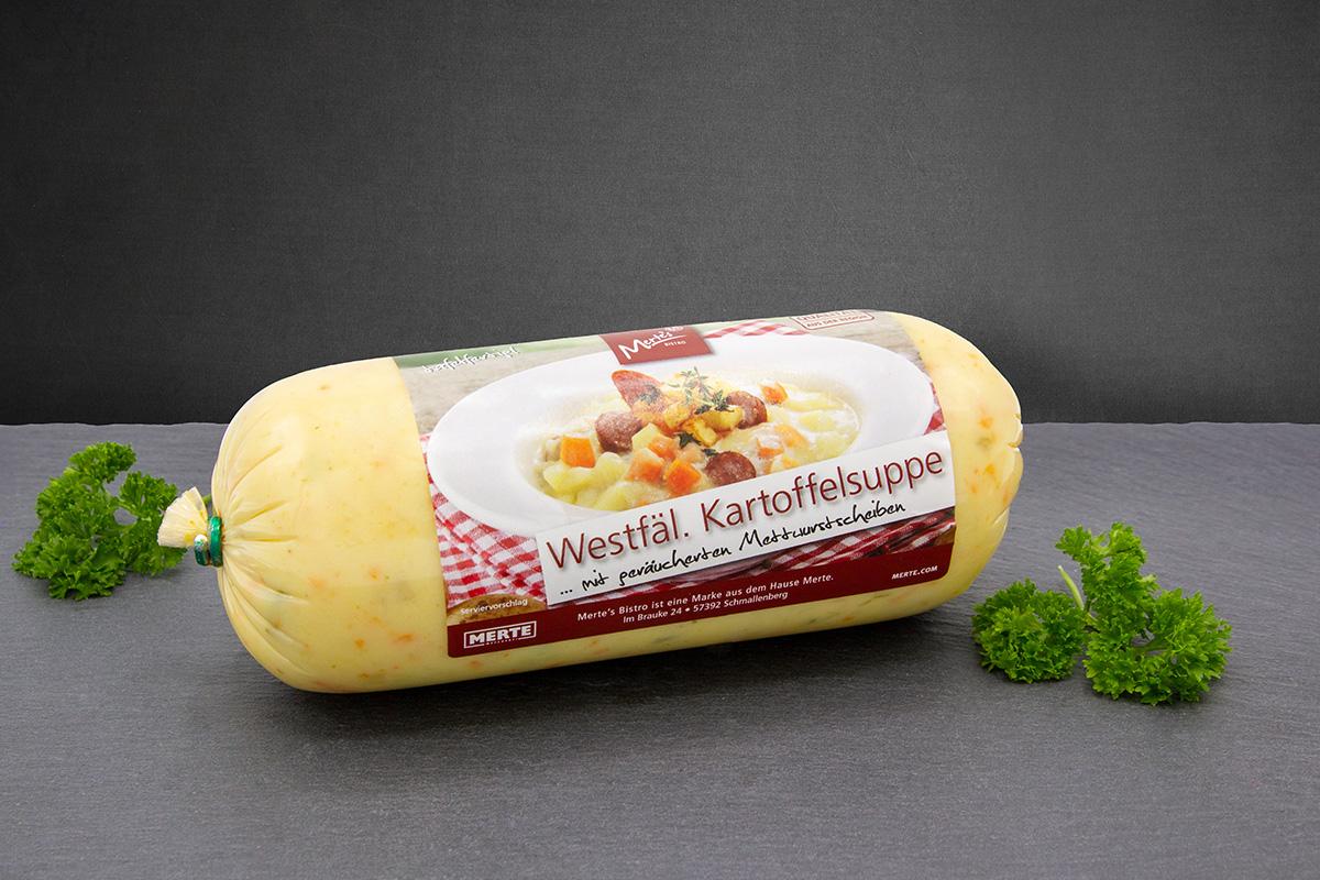 Kartoffelsuppe Westfälisch