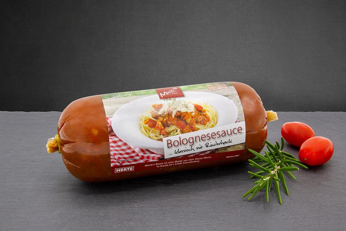 Bolognesesauce mit Rindfleisch